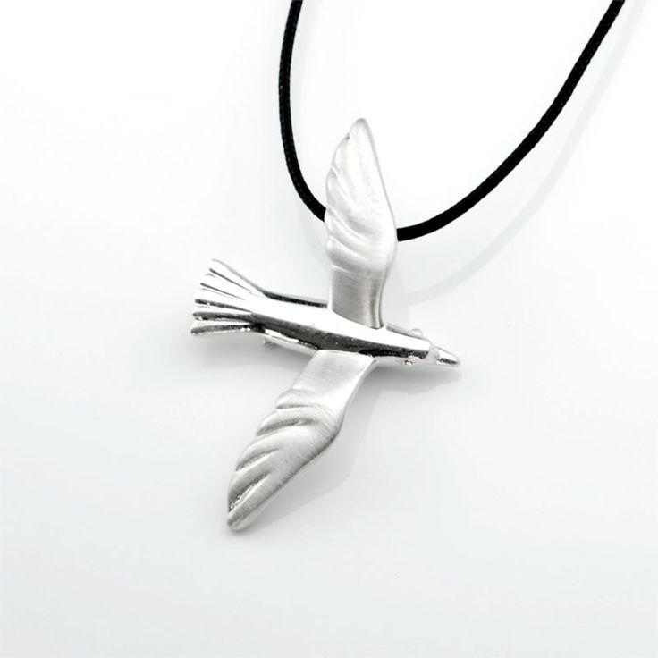 Seagull - Silver Pendant #seagull #pendant #silver #summer #gift