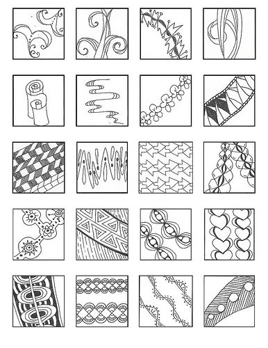 393 curated zentangle lines  ribbons  and borders ideas by