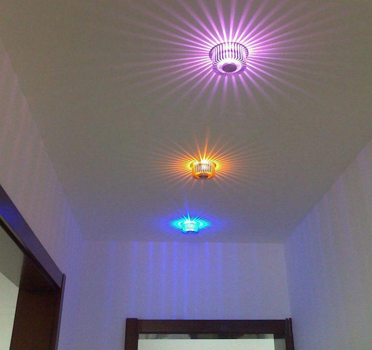 2 x LED-Deko RGB Einbau-Lampe mit Fernbedienung- automatischer Farbwechsel ! LED-Licht schont ihren Geldbeutel auf Dauer !