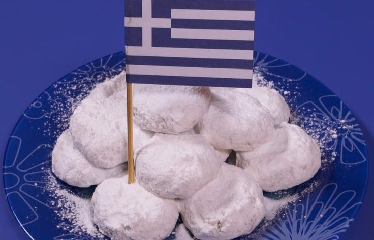Recipe: Kourabiedes – Greek Christmas Sugar Cookies
