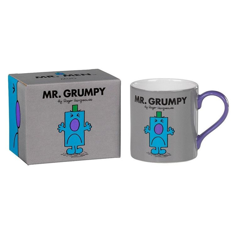 Mr Grumpy Mug From Wild and Wolf  #gift #quirky #cheap #gifts #cool #sale #shopping #birthday #presents #mzube   https://www.mzube.co.uk