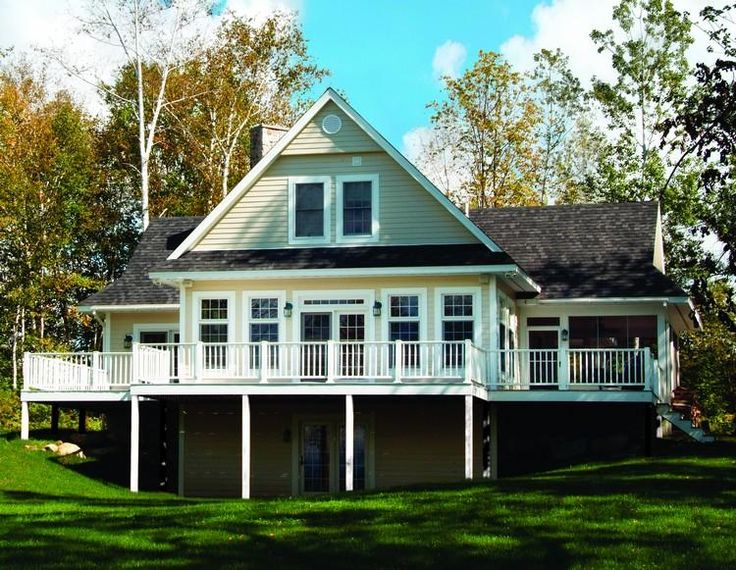 39 best lake house plans images on pinterest | lake house plans