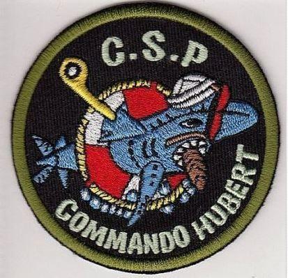 France Navy Commando Hubert Combat Diver Marine Francaise C.S.P Palmeur de Comba