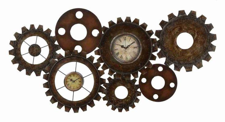 Clock Metal Art And Wall Clocks On Pinterest
