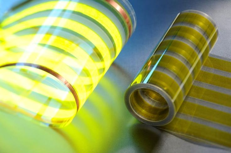 Finnish researchers develop large-surface light-emitting plastic film Image credit: www.vttresearch.com