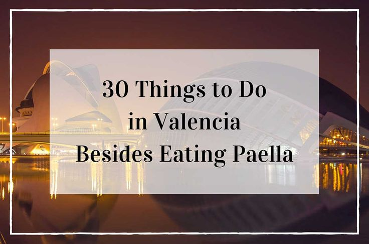 Visit Valencia with this free guide. Discover fun things to do in Valencia, what to eat, the coolest attractions & the best places to visit in Valencia.