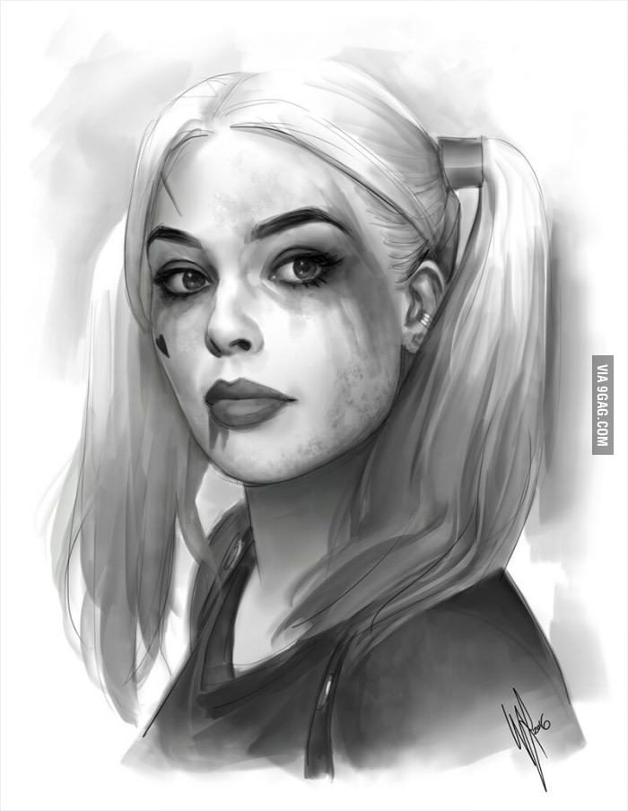Sexy AF Harley Quinn, Before Hand...