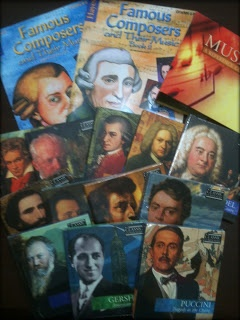 Classic Homeschool: Composers Unit Study - week 1 Handel (Jen lays out a whole week study, including resources and free printables she offers!)