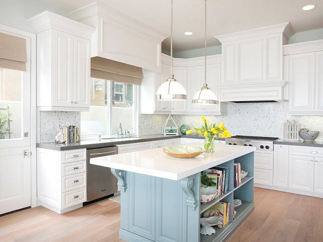 White Kitchen Countertops With White Cabinets best 25+ blue white kitchens ideas on pinterest | blue country