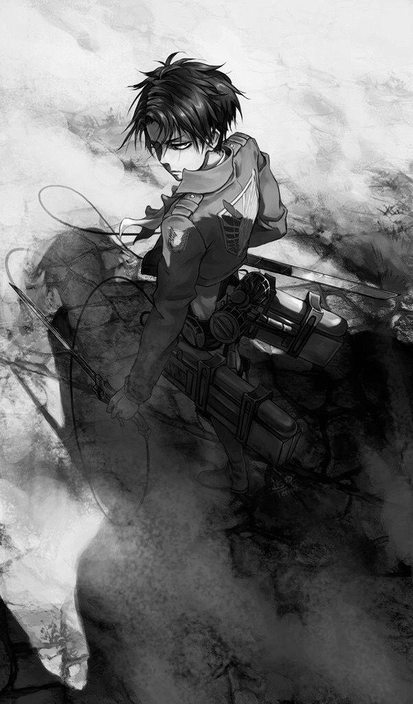 Levi Ackerman Fan Art Attack On Titan Fanart Attack On Titan Anime Attack On Titan Levi