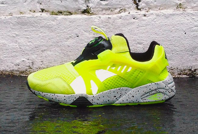 "Preview: Puma Disc Blaze ""Mesh Revolution"" (Fluro Yellow) - EU Kicks: Sneaker…"