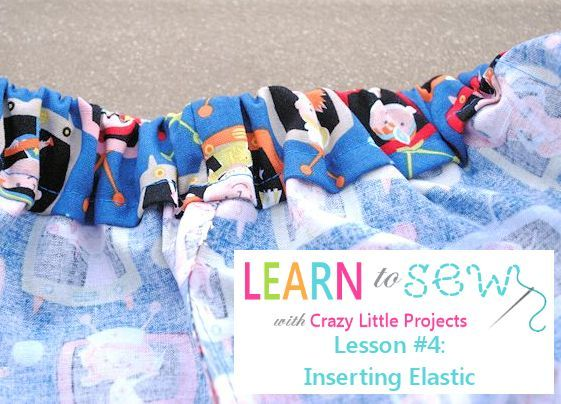Learn to Sew: How to Insert Elastic