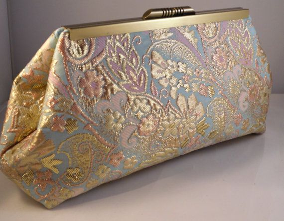 Bridesmaid or Mother of the Bride Gift Clutch by SewSarahR on Etsy, $39.00