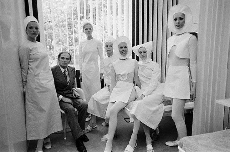 Nurses Uniforms by Pierre Cardin 1970