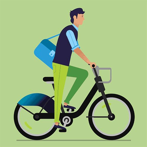 Mobility managers, payment providers and city planners will all in the future contribute to making our everyday commute a seamless journey. Deloitte is helping to make this future a reality. Combination of 2D character animation within a 3D space.