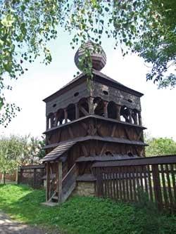 Wooden Church of the Slovak part of Carpathian Mountain Area (Slovakia)