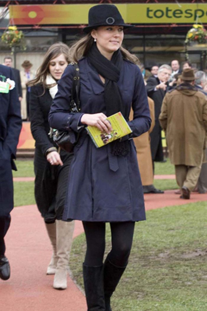 Kate Middleton at the The Cheltenham Horse Racing Festival, March 14, 2008.