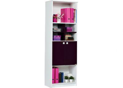 Boekenkast voor de paarse kinderkamer, pretty | Kasten