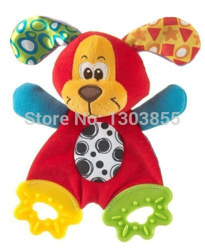 2014 HOT Baby Infant Soft Appease Toys Towel Playmate Calm Doll Teether Developmental Toy Dog | Price: US $3.25 | http://www.bestali.com/goto/2031428532/10