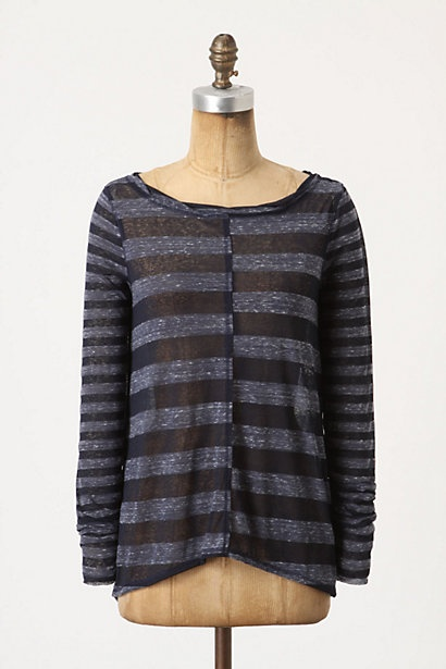 bisected stripes top - Anthropologie: Shirts Tops, Anthropology, Skinny Jeans, Bisect Stripes, Stripes Tops, Anthropology Pilcro, Blue Stripes Shirts, Anthropology Europe, Heart Anthropology