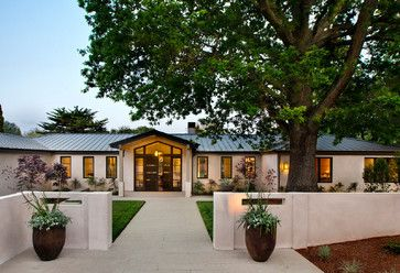 Remake A 1-story Ranch Style Home Into A Exterior Design Ideas, Pictures, Remodel and Decor