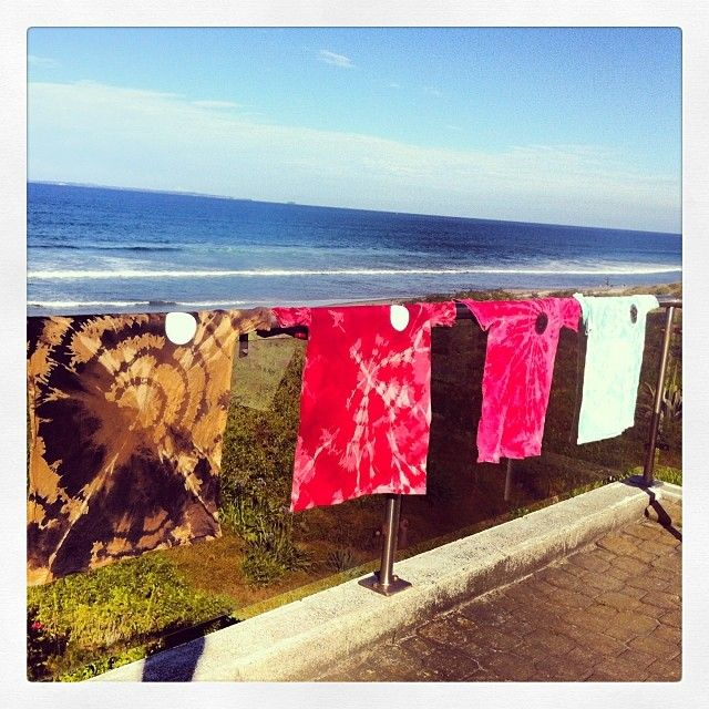 bit of tie dying before work(SURF :P)