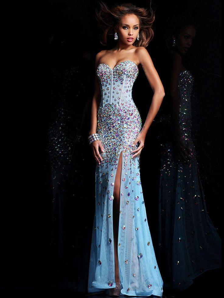 Trumpet/Mermaid Sweetheart Sleeveless Floor-Length Tulle Dresses