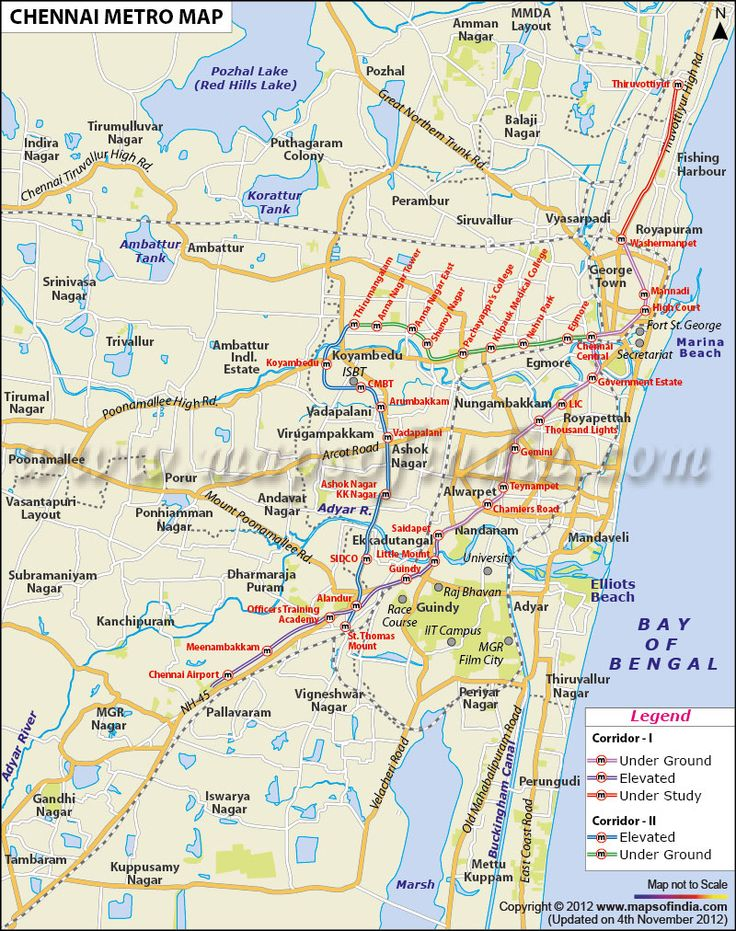 Chennai Metro Map