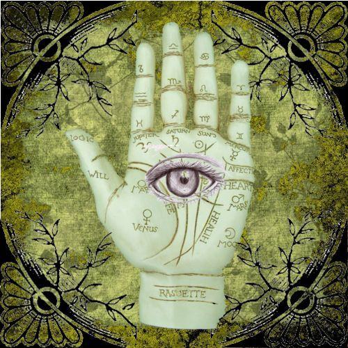 all seeing eye..hand