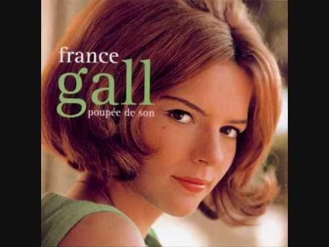 """FRANCE GALL. """"Poupée de cire"""" écrit par Serge Gainsbourg et qui remportera le grand Barnum """"Eurovision"""" en 1965, et qui propulsera enfin Serge vers un succès, autre que celui d'estme."""