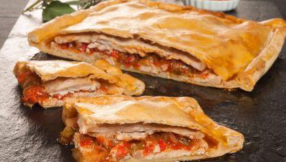 Receta de Empanada de lomo y pimientos #empanada