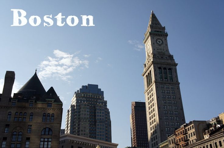 Custom House, downtown, a pretty tower in Boston!