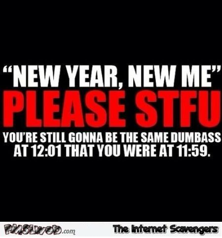 New year humor – Hilarious New Year picture collection | PMSLweb