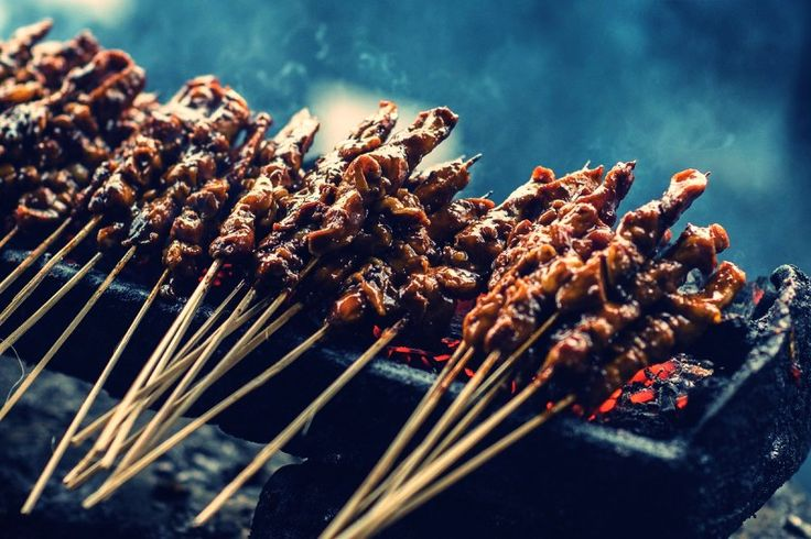 Indonesian Sate or Satay