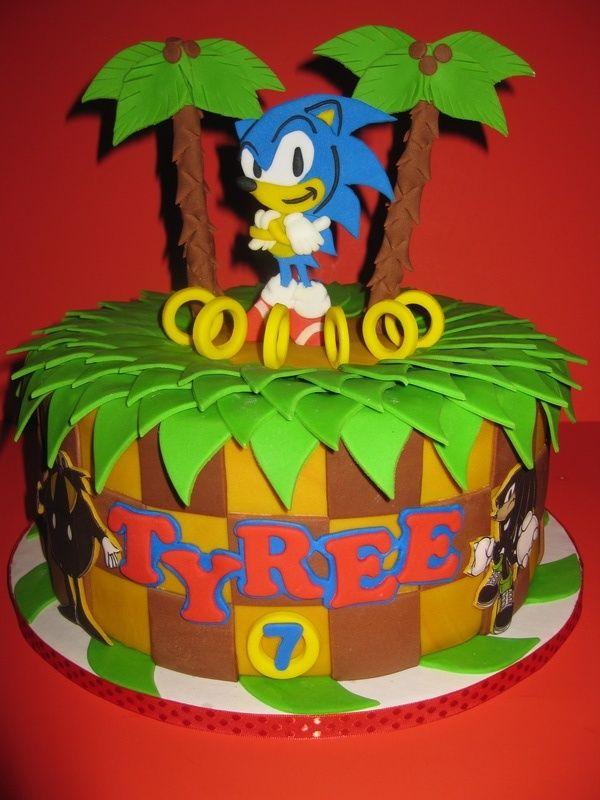 Sonic The Hedgehog Cake  House Of Cakes cakepins.com