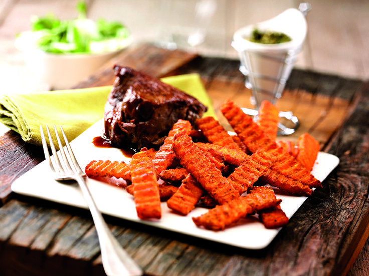 Sweet potato ribbel fries