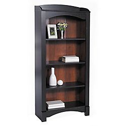 Reale S Mini Solutions 4 Shelf Bookcase Antique Black Item 616115 Christopher Lowellblack