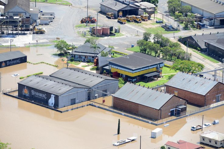 2013 Bundy Floods ~ Bundaberg Rum Distillery