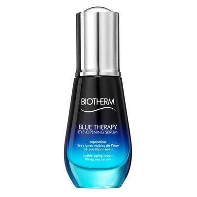 Biotherm Eye-Opening Serum uses marine polymers and algae extracts to naturally open the eye angle, by treating the complete eye contour as well extending the lashes. The repair of 5 years of accumulated eye damage in 4 weeks.