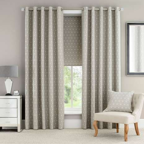 1000 ideas about geometric curtains on pinterest for Space fabric dunelm