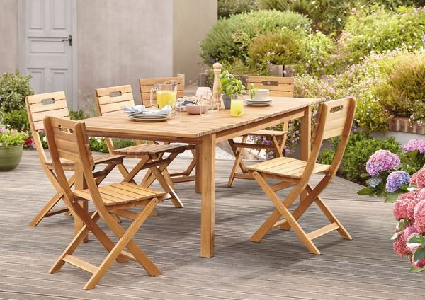 Table De Jardin Extensible De 6 A 8 Personnes Table De Jardin