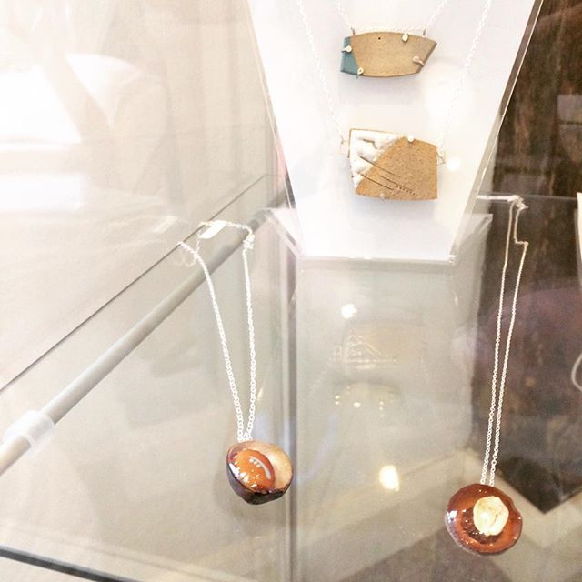 Miraculous miniatures. Wavy wires. Mixed materials. Every piece is different by designer-maker Hannah Sumner #Jewellery #sculptues #nuts 1 November 2016 to 31 January 2017 Tuesday to Saturday 09:30 - 17:00