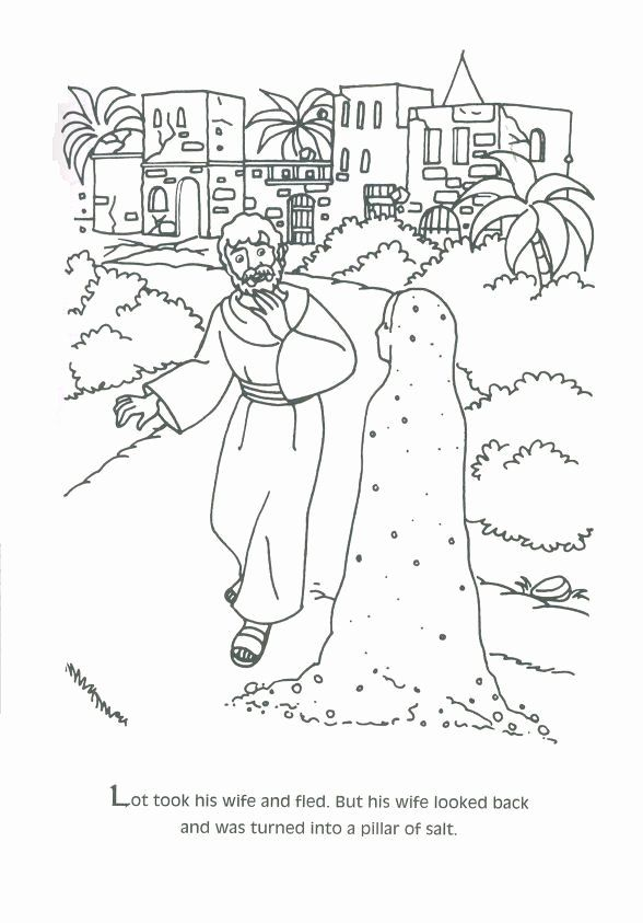 28 Abraham And Lot Coloring Page In 2020 Abraham And Lot Sunday