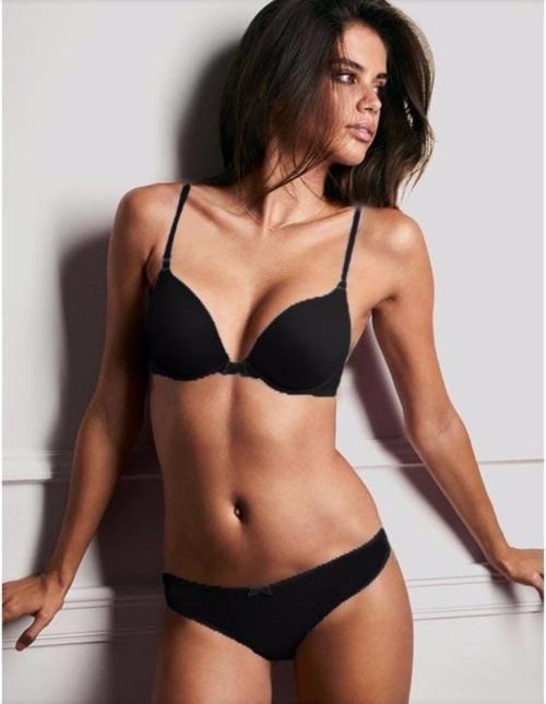e86d390875 Victoria s Secret - Black Single Padded Bra And Panty Set - Bra Panty Sets  - diKHAWA Online Shopping in Pakistan