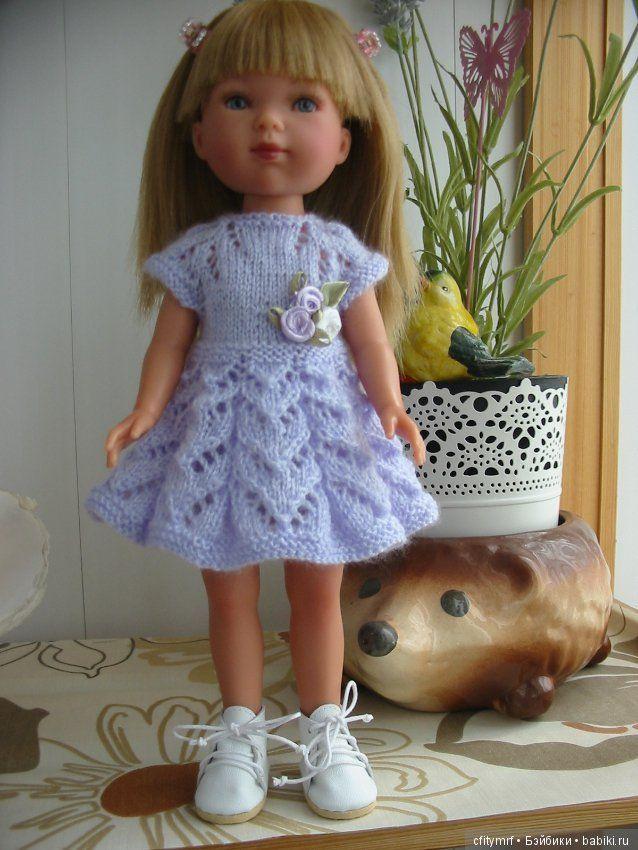 Одежда для Карлотты Vestida de Azul 28 см / Одежда для кукол / Шопик. Продать купить куклу / Бэйбики. Куклы фото. Одежда для кукол