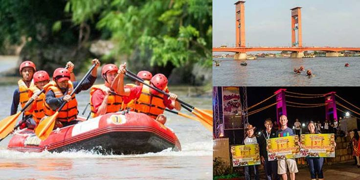 International Musi Triboatton is a blend of exploration travel or traverse the river by rowing varied using three different types of boat namely river boat, kayak and traditional boat racing.