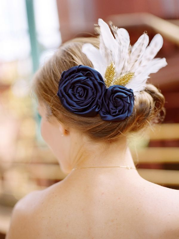 Something blue...: Hair Flower, Traditional Weddings, Things Weddings, Headpiece, Wedding Ideas, Hair Pieces, Wedding Hairs