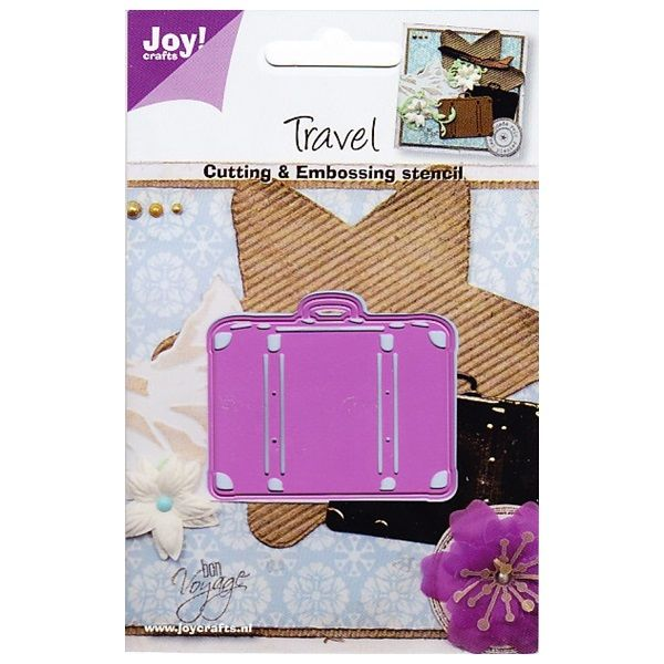 Joy! Crafts Cut & Emboss Die ~ Travel Suitcase