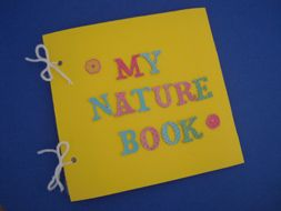 My Nature Book    My Nature Book is a wonderful nature craft that's the perfect activity for camping, vacation, or just when discovering the environment outside your home! Great idea for preschoolers on up!