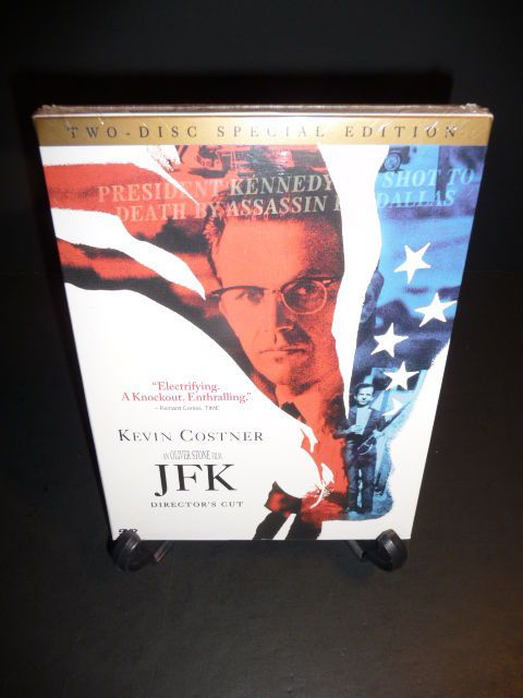 JFK (DVD, 2003, 2-Disc Set, Two-Disc Special Edition) Tommy Lee Jones  Sealed